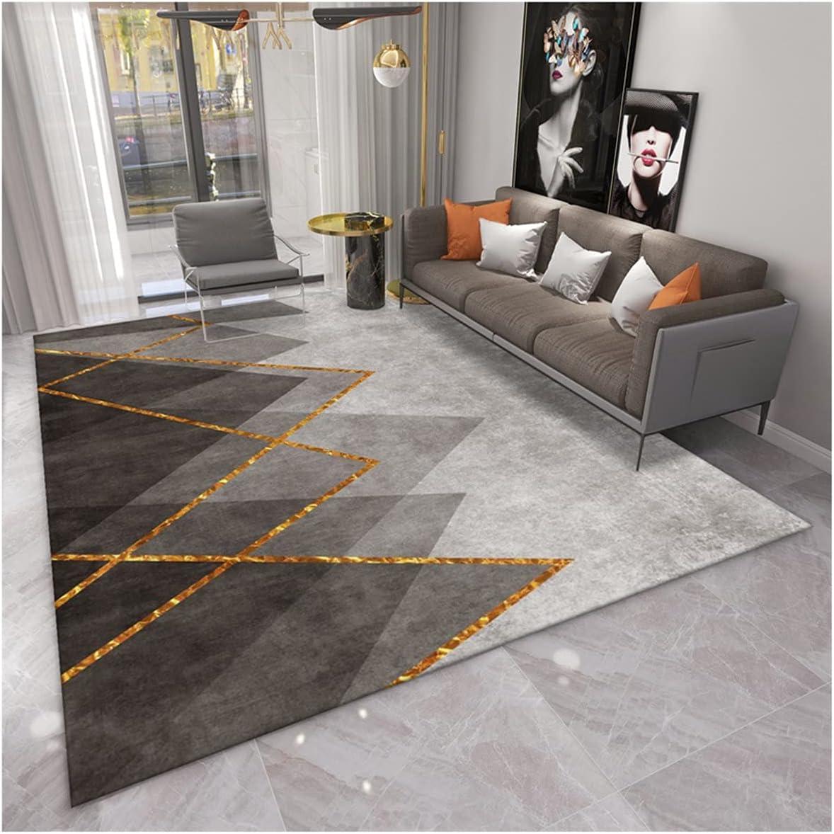 Area Surprise price Rug, Abstract Geometric Luxury Bargain Lounge Ru Living Room