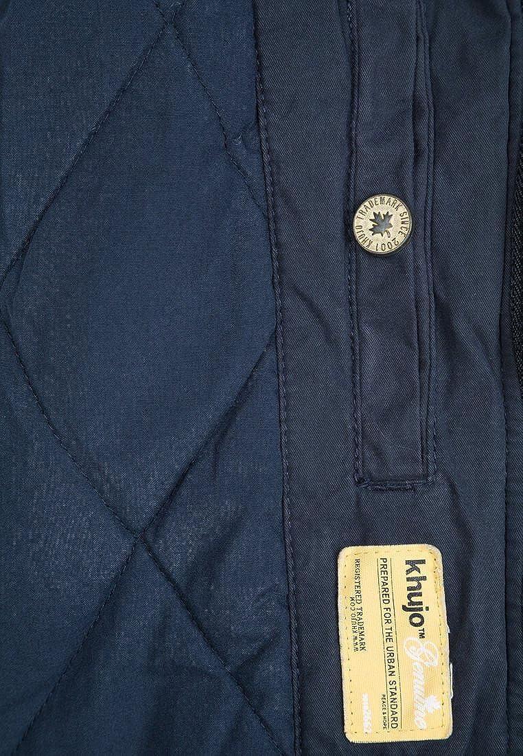Khujo Damen Mantel GRACE Blau (Navy 450)