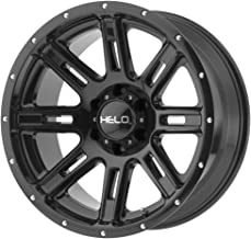 HELO HE900 Gloss Black Wheel Chromium (hexavalent compounds) (20 x 10. inches /5 x 72 mm, -24 mm Offset)