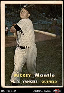 1957 mantle card