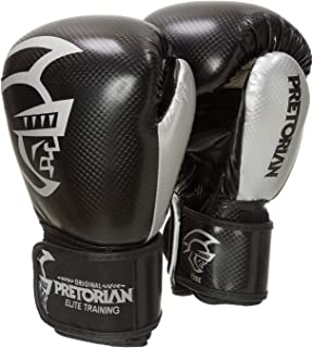 Luva De Boxe/Muay Thai Pretorian Elite Training Pretorian 16Oz Preto