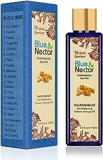 Blue Nectar Nalpamaradi Tailam For Skin Brightening with Turmeric and 16 Ayurvedic Herbs - 100 Ml