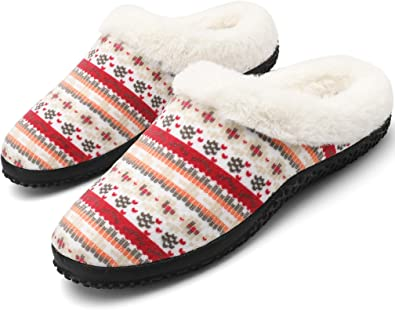 Uomo Donna Inverno Pantofole Scarpe Caldo Peluche Cotone Scarpe Casa Unisex Antiscivolo Scarpe Taglia,Rosa_Khaki_b,38 EU