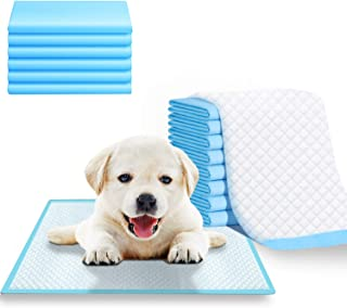 REHTRAD Pack of 50 Pee Pads for Dogs,Pet and Puppy Training Pads,Water Proof Dog Pee pad- 45 x 60CM (Pack of 50, M:45 x 60cm)