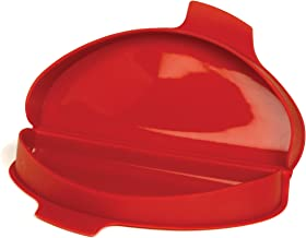 """Norpro, Red Silicone Omelet Maker, 8.75 by 4.75 by 1.38-Inch, 8.75"""" x 4.75"""" x 1.38"""""""