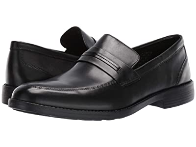 Bostonian Birkett Way (Black Leather) Men