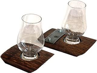 Single Glencairn Glass Coaster/Whiskey Coaster/Bourbon Coaster/Glencairn glass/Coaster (No Steel)