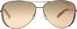 نظارات شمس مايكل كورس شيلسي للنساء M5004 1017R1 ذهبي وردي افييتور 59 ملم