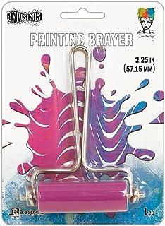 Ranger Gel Press Brayers, materiał syntetyczny, wielokolorowy, szerokość 5,5 cm