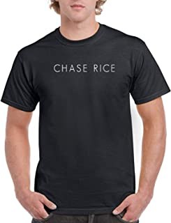 Mens Chase Rice Logo Black T Shirt