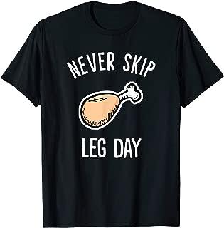 Best never skip leg day t shirt Reviews