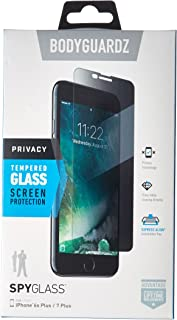 BodyGuardz - SpyGlass Privacy Screen Protector, Extreme Impact and Scratch Protection for iPhone 8 Plus/7 Plus/6s Plus/6 Plus