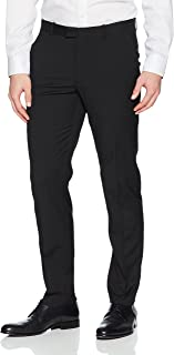 Portfolio Men's Very Slim Fit Flat Front Stretch Dress Pant