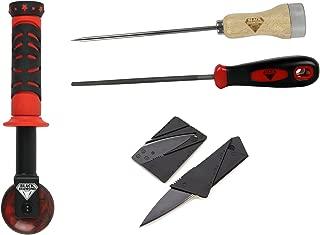 Black Diamond Skateboard Griptape Roller File Awl Cutter Application Kit Skate Tools Set