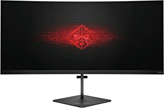 OMEN X by HP 35-inch Ultra WQHD Curved Gaming Monitor 21:9, 100Hz, Height Adjustable, with NVIDIA G-SYNC (Black)