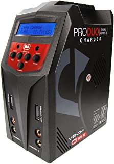Venom Pro Duo 80W X2 Dual AC/DC 7A LiPo/LiHV & NiMH RC Battery Balance Charger