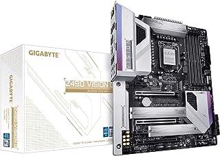 GIGABYTE Z490 ビジョンG (インテルLGA1200/Z490/ATX/2xM.2/Realtek ALC1220-VB/Intel LAN/SATA 6Gb/s/USB 3.2 Gen 2/SLI サポート/HDMI/マザーボード)