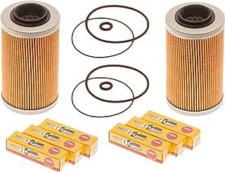 Sea Doo 4-Tec Maintenance Kit Oil Filter W/O-Ring & NGK Spark Plugs 2 Pack