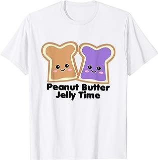 Peanut Butter Jelly Time Shirt Girls Cute Kawaii BFF