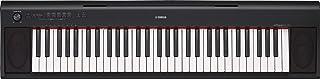 YAMAHA NP12 61-Key Lightweight Portable Keyboard, Black (Pow
