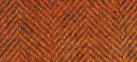 "product image for Weeks Dye Works Wool Fat Quarter Herringbone Fabric, 16"" by 26"", Pumpkin"