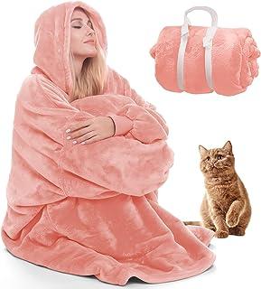 Deken Sweatshirt Deken Hoodie Warme Deken Hoodies voor Vrouwen Draagbare Deken Vrouwen Oversized Hoodie Deken voor Volwass...