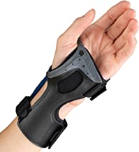 OTC Wrist Brace, Molded Exoskeleton, Low-Profile, Exolite, Small (Left Hand)
