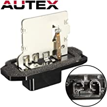 AUTEX Manual HVAC Blower Motor Resistor Compatible with Toyota Camry 1999-2003 Blower Resistor Replacement for Toyota Solara 1999-2002 Resistor RU322 20238 8713833060 JA1334 3A1215