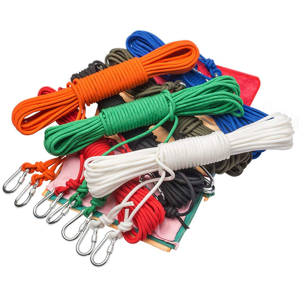 Camping Clotheslines Hanging Rope Washing Line Airers Clothes Dryer Colorful
