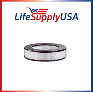 LifeSupplyUSA 2 HEPA Filter Compatible with Honeywell HRF-D1 HRF-11N D Filter Silentcomfort HWLHRF1 10500 17000 20500 10590 50100 20590