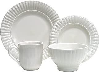 Thomson Pottery 16-pc. Maison White Dinnerware Set No Size