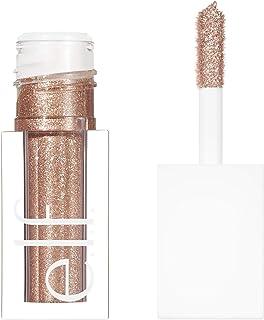e.l.f., Liquid Glitter Eyeshadow, Long Lasting, Quick-Drying, Opaque, Gel-Based Formula, Creates High-Impact, Multi-Dimensional Eye Looks, Flirty Birdy, 0.10 Fl Oz