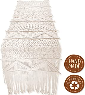 SnugLife Macrame Table Runner (86