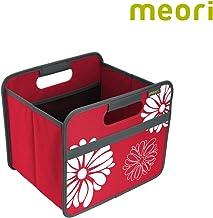 (Flowers) - Meori Foldable Box 15l Hibiscus red Folding Box
