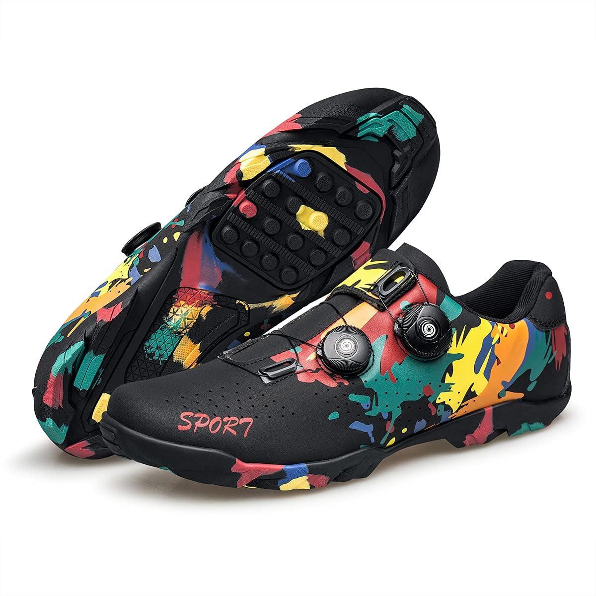 BNV Cycling Long Beach Mall Shoes for Men Graffiti Style Product Sneakers Road Moun Bike