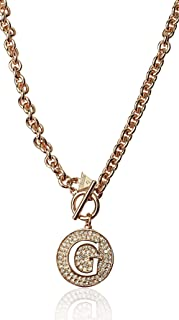 Guess Pendant Necklaces for Women,Stainless Steel - UBN51428N