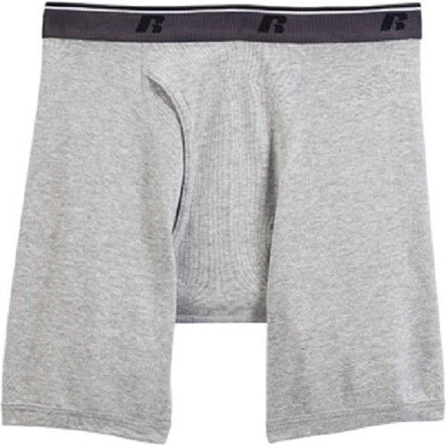 Russell Mens Comfort Performance 3-pk Boxer Briefs (Small - XX-Large)