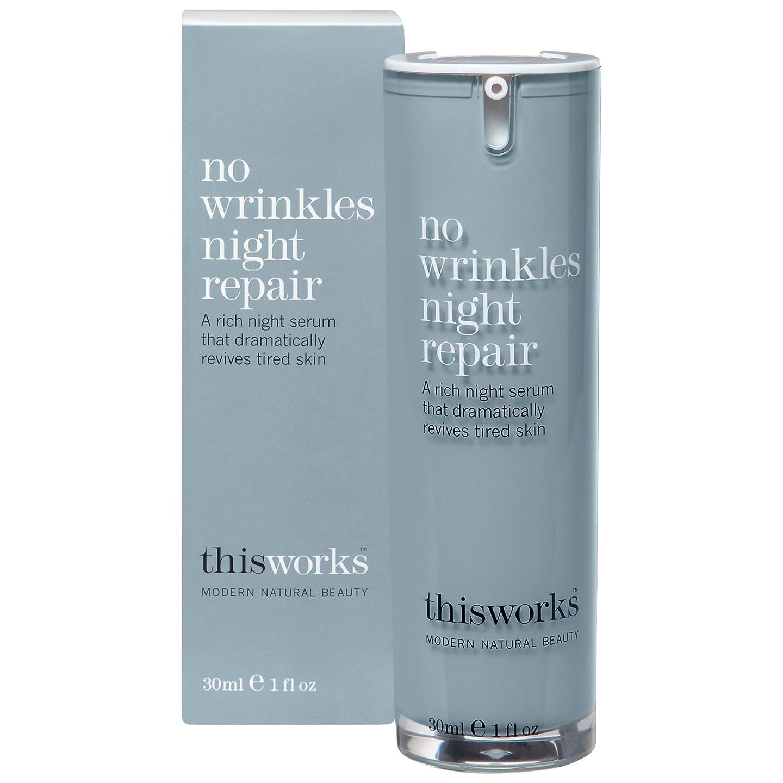 感性不均一フォーラムこれにはしわナイトリペア30ミリリットルの作品はありません (This Works) (x2) - This Works No Wrinkles Night Repair 30ml (Pack of 2) [並行輸入品]