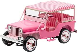 Greenlight Hollywood Elvis Presley 1960 Surrey CJ3B Jeep (1:43 Scale), Pink