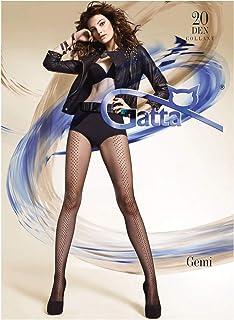 Gatta Gemi 01 - Top modische sexy trendy gemusterte Strumpfhose
