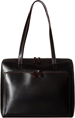 Audrey Zip Top Tote w/ Organization