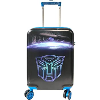 Kids Hardshell Luggage Charactors Suitcase Travel 4 Wheels Spinner Cabin Trolley