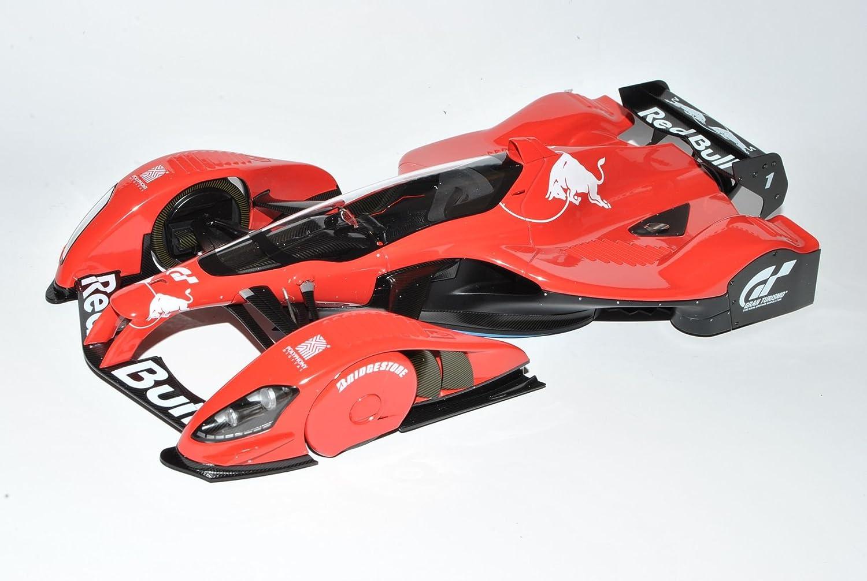 AUTOart rot Bull X2010 Sebastian Vettel Playstation Gran Turismo Rot 18107 18106 1 18 Modell Auto mit individiuellem Wunschkennzeichen B00MNSNFQI Elegantes Aussehen    Kaufen Sie beruhigt und glücklich spielen