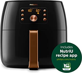Philips HD9860/91 Premium Collection Air Fryer, with Smart Sensing Technology for Healthy Cooking, Baking and Grilling, XX...
