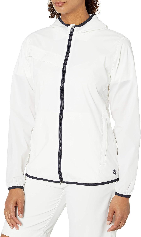 Rapid rise Cutter Buck Women's Hooded Breaker Jacket Manufacturer OFFicial shop