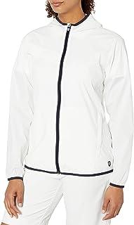 Cutter & Buck Womens LCO00019 Breaker Hooded Jacket Rain Jacket