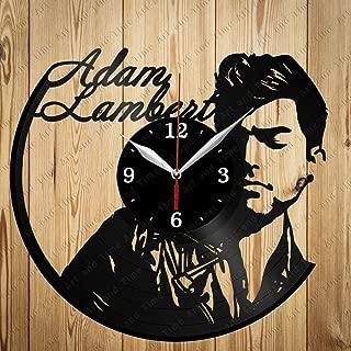 Adam Lambert Art Decor Home Wall Clock Black Original Gift Unique Design