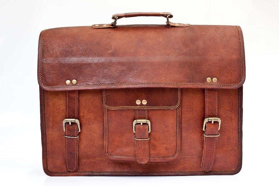 Vintage Leather Laptop Bag 15