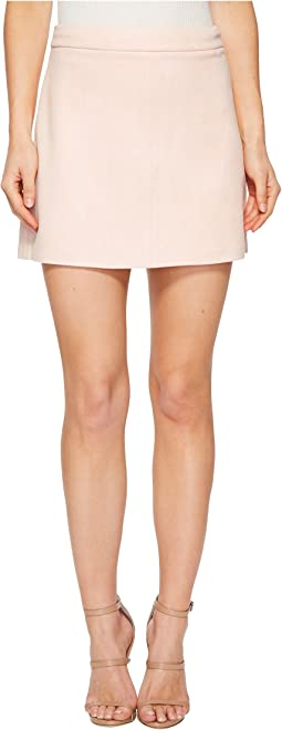 Jack by BB Dakota - Amil Faux Suede A-Line Skirt