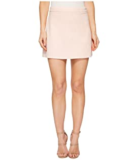 Amil Faux Suede A-Line Skirt